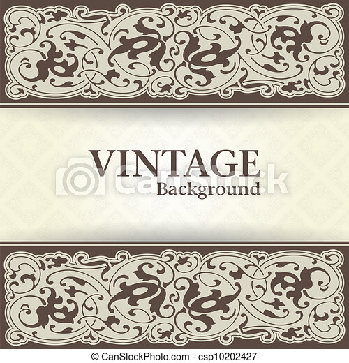Vintage background - csp10202427