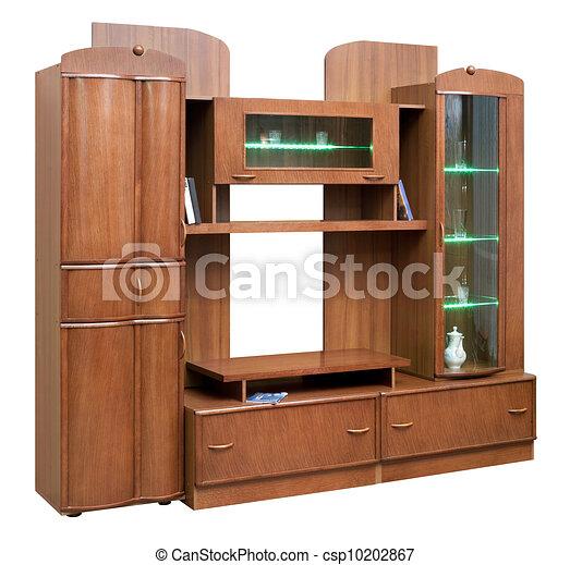 Stock de ilustracion de alacena puertas de madera for Puertas de madera con cristal precio