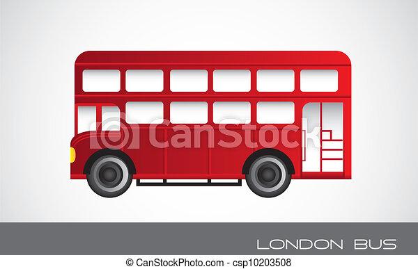 London bus Vector Clip Art Royalty Free. 1,120 London bus clipart ...