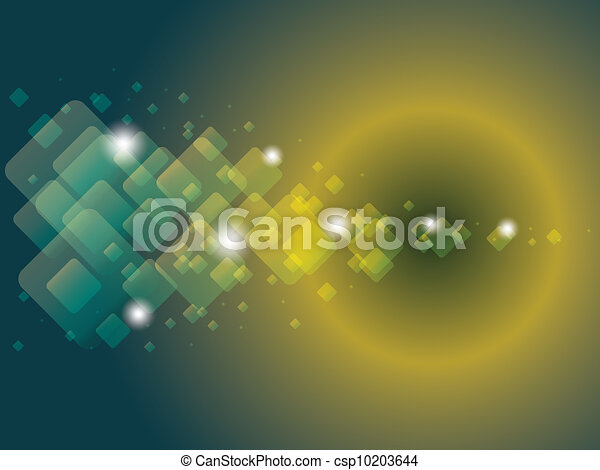EPS10 abstract overlay rectangles background - illustration - csp10203644