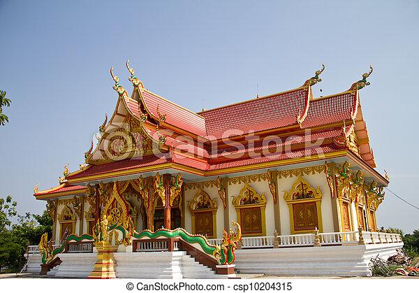 库存照片-美丽, 泰国人, 寺庙, 泰国