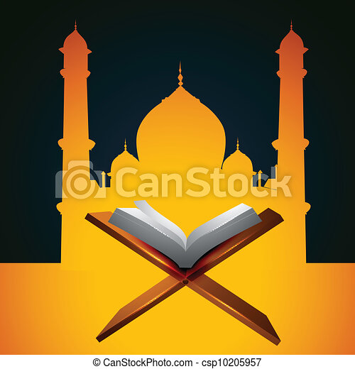 quraan book - csp10205957