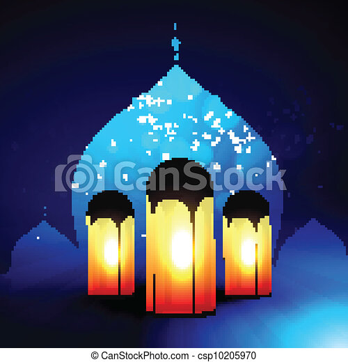ramadan kareem vector - csp10205970