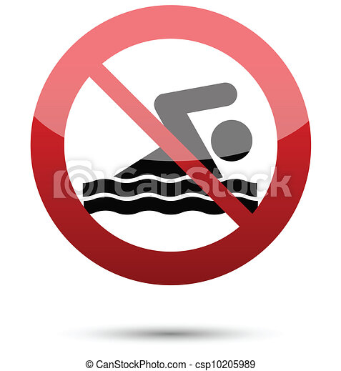 no swimming sign - csp10205989