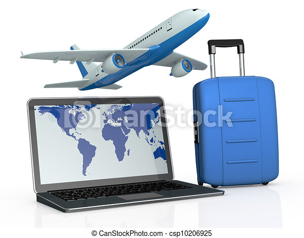 online travel booking - csp10206925