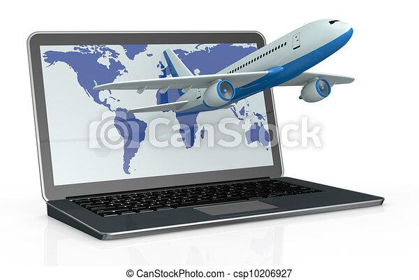 online travel booking - csp10206927