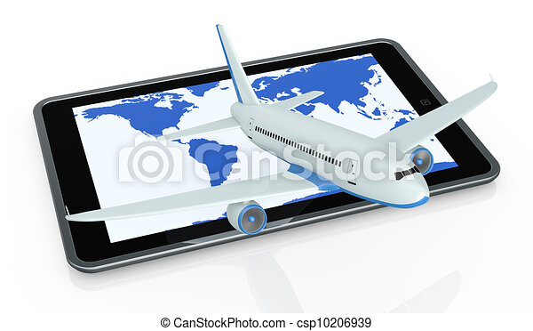 online travel booking - csp10206939