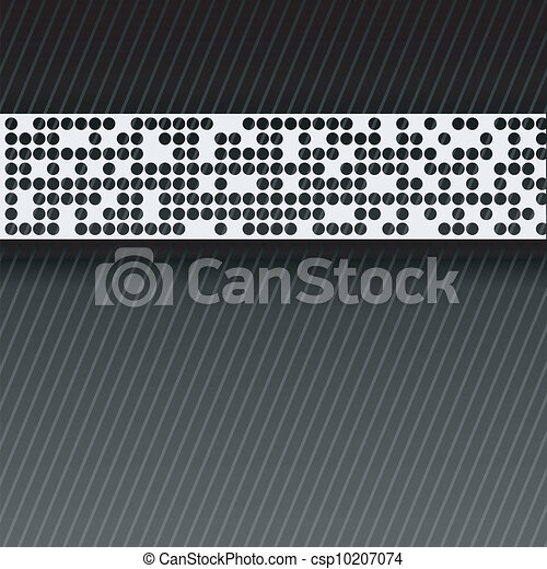 bstract perforated paper tape. - csp10207074