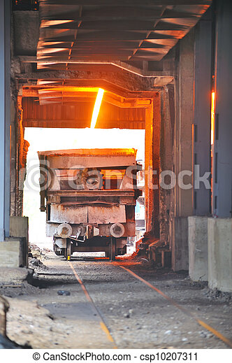 transportation molten hot steel - csp10207311