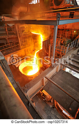 transportation molten hot steel - csp10207314