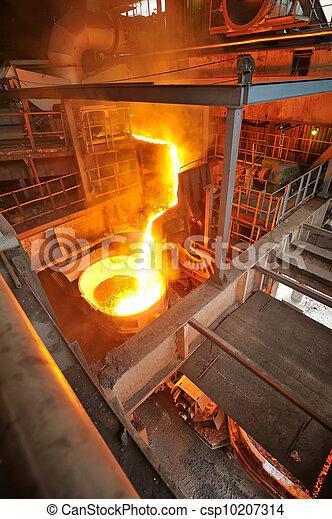 transportation molten hot steel - csp10207314