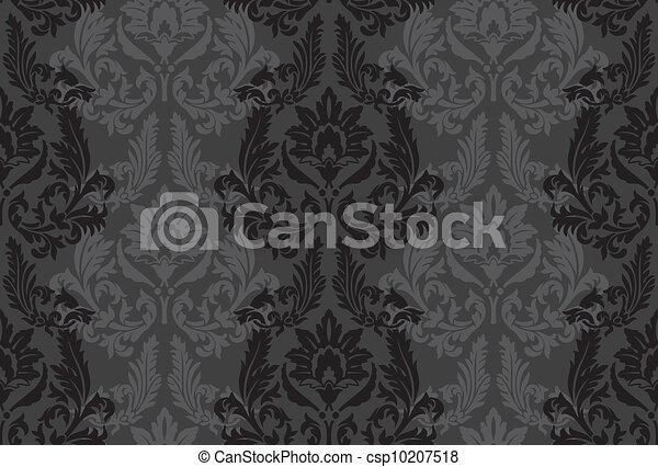 Seamless vintage background - csp10207518