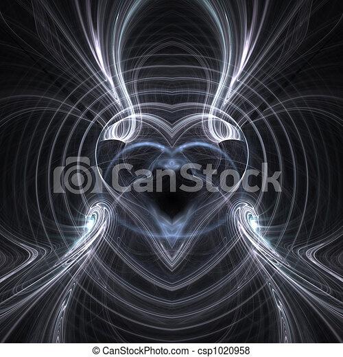 Metal Heart - csp1020958
