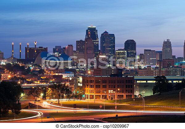 Kansas City. - csp10209967