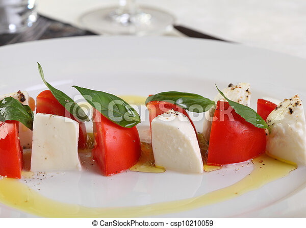 Caprese Mozzarella and tomatoes - csp10210059