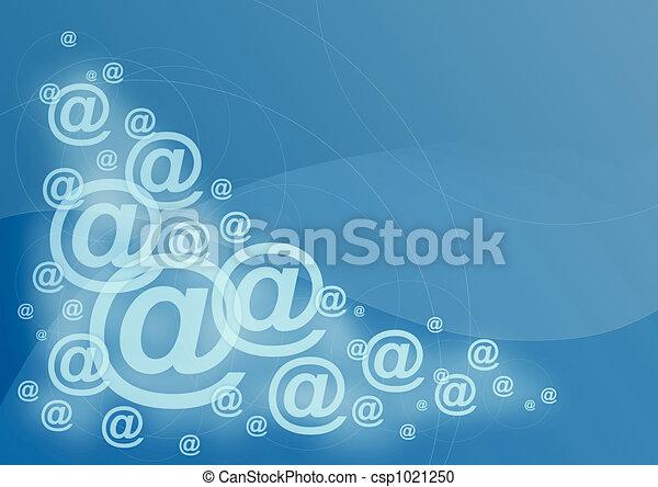 e-mail symbol - csp1021250