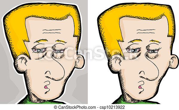 Tired Man - csp10213922