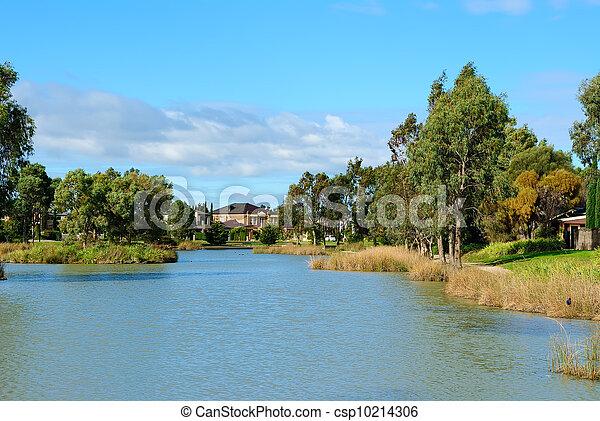 Residential area - csp10214306