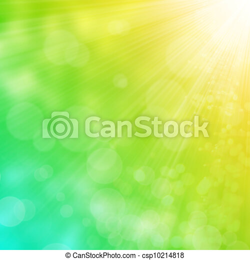 Spring or summer abstract background - csp10214818