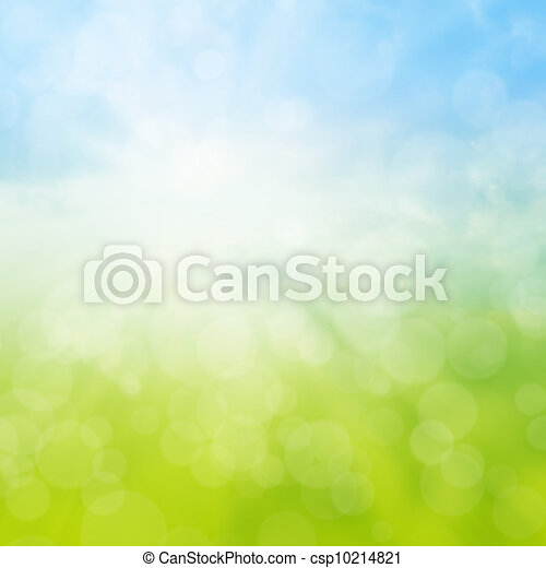 Spring or summer abstract background - csp10214821
