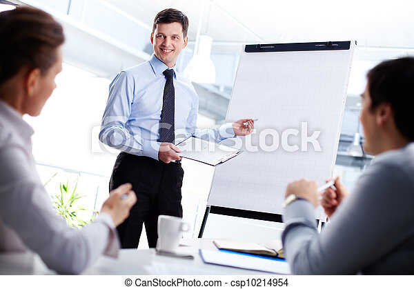 Look at the whiteboard - csp10214954