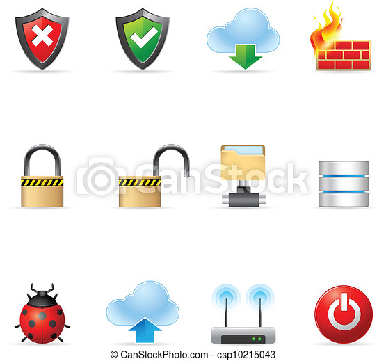 Web Icons - Computer Network - csp10215043