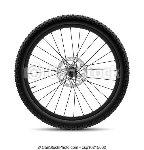 Bicycle wheel - csp10215662