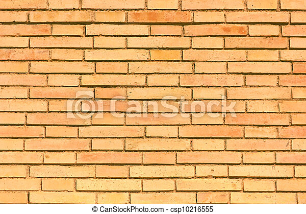 A bricks wall detail, as a texture o wallpaper - csp10216555