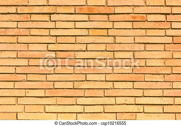 A bricks wall detail, as a texture o wallpaper - csp10216555