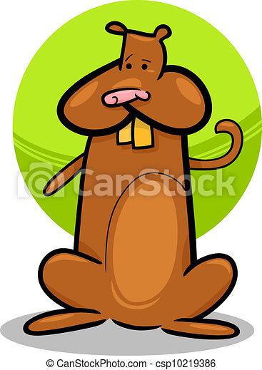 Vecteur de dessin anim griffonnage mignon hamster - Hamster dessin anime ...