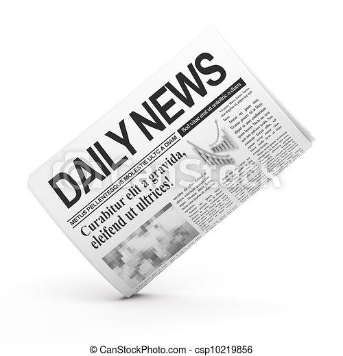 Newspaper - csp10219856