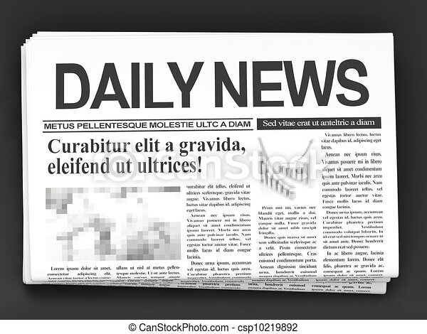 Newspaper - csp10219892