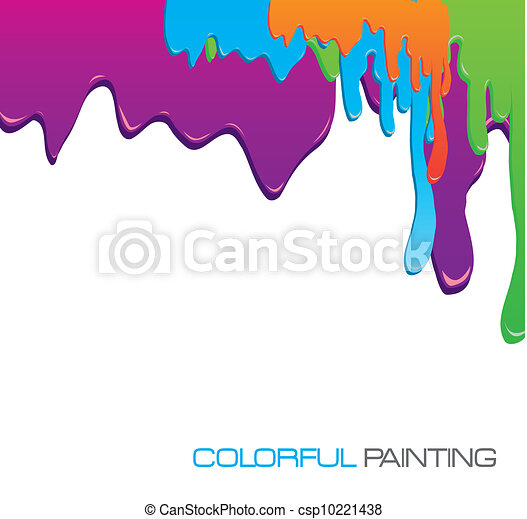 paint dripping - csp10221438