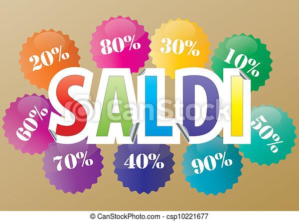 sale italian - csp10221677
