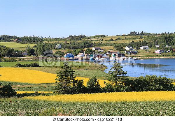 P.E.I. summer landscape - csp10221718