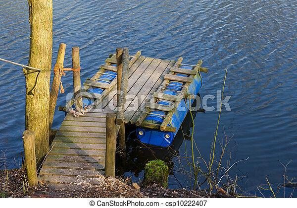 Handmade raft - csp10222407
