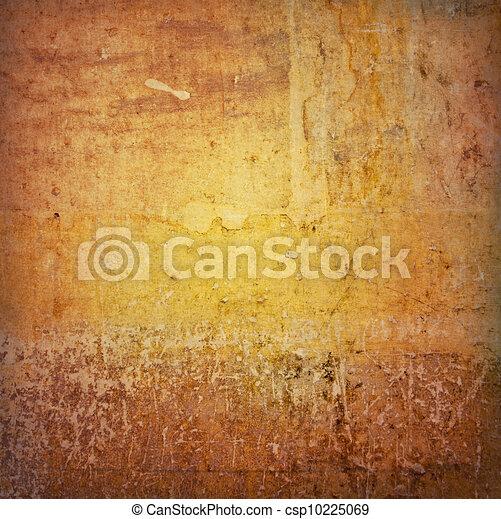 Brown grungy wall - csp10225069