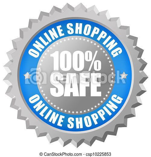 Safe online shopping - csp10225853