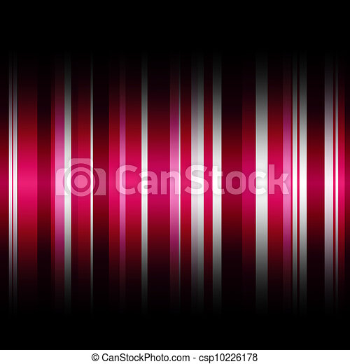 wallpaper stripes in many pink colors with a gradient shadow top and bottom - csp10226178