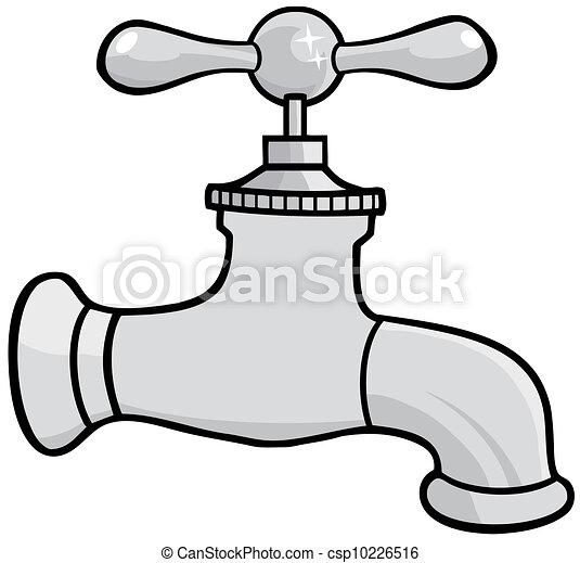 节约用水一个小孩在关水龙头