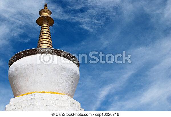 Buddhist stupa - csp10226718