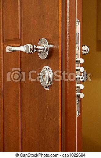 modern and safe lock - csp1022694