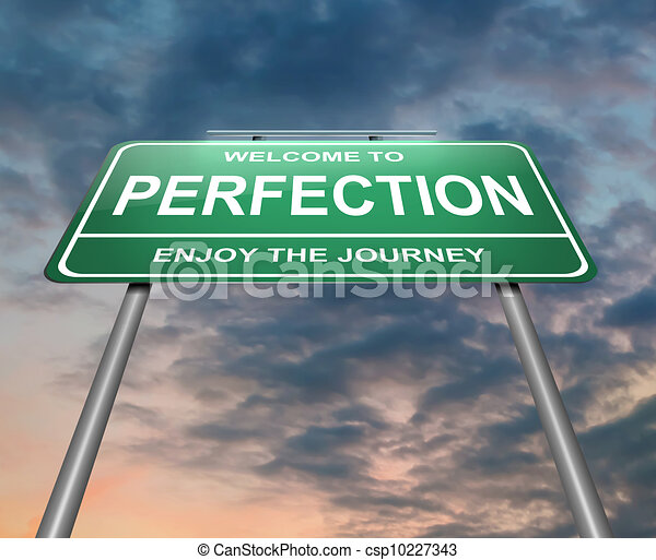 Perfection concept. - csp10227343