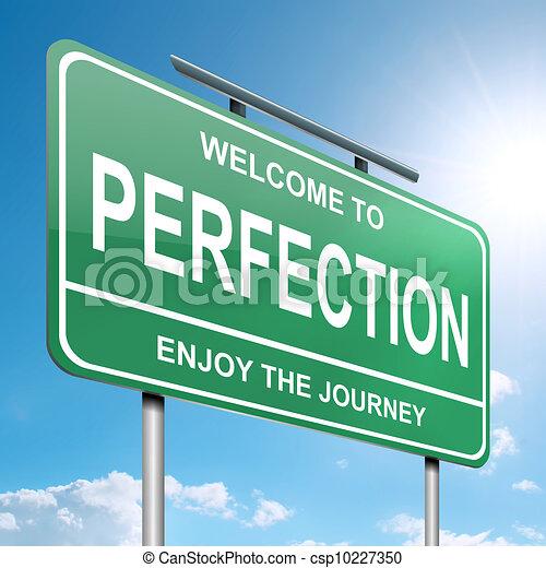Perfection concept. - csp10227350