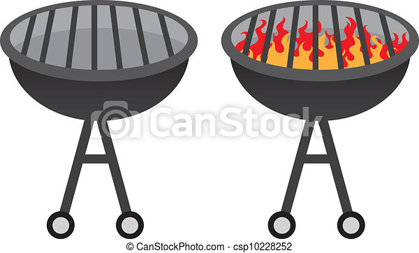 Barbecue Grills Images Barbecue Grill Clipart Vector