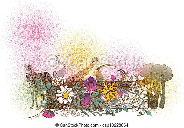 Africa wildlife - csp10228664