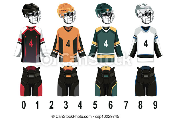 Ice hockey jersey - csp10229745