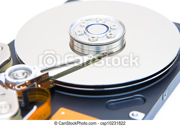 Internals of a harddisk HDD - csp10231822