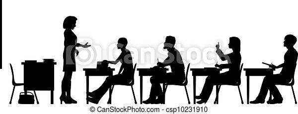 Adult education - csp10231910
