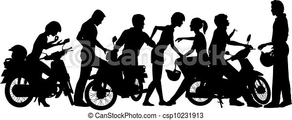 Biker youth - csp10231913